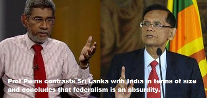 Devolution, Sri Lanka's Defence And Security